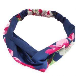 Haarband blue flowers