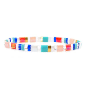 colorful beach bracelet bright colors