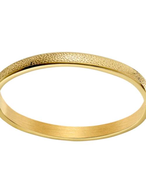 Armband met reliëf goud