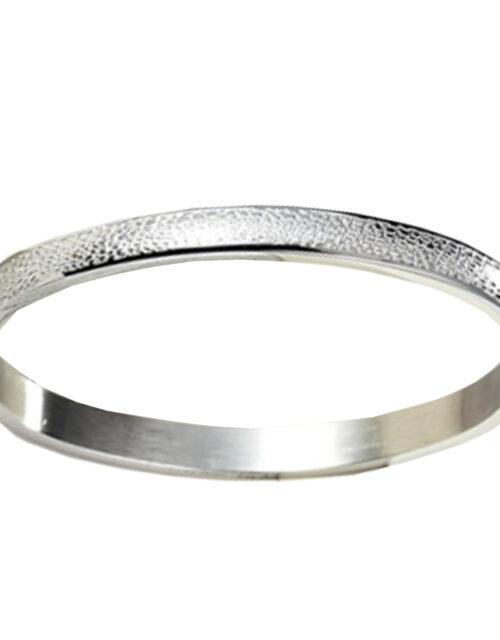 Armband met reliëf zilver