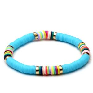 Armband boho blue
