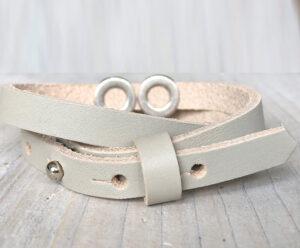 Armband met eigen naam dubbel