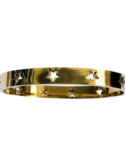 Armband stars goud