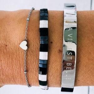 Armbanden set la vie black
