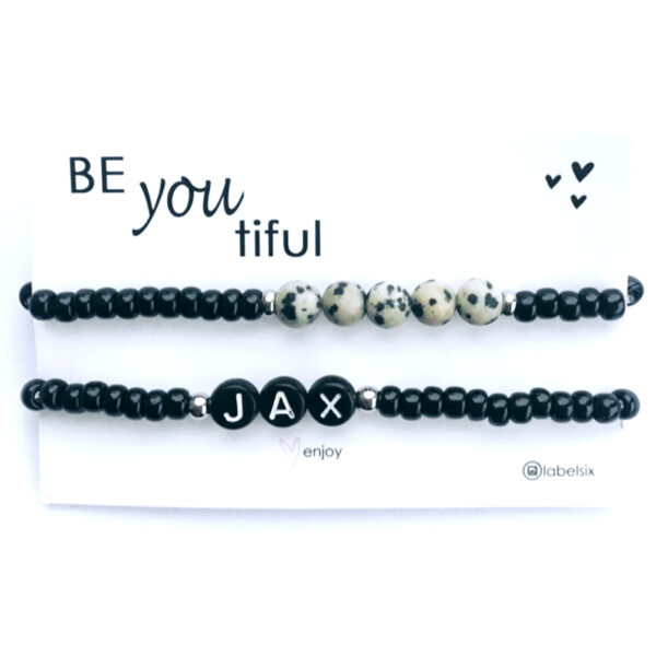BeYouTiful nature initial zwart