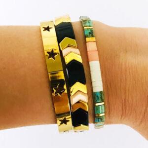 Beach bracelet armbanden set star bangle