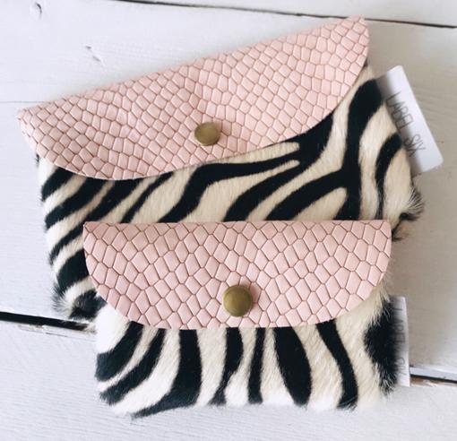 Bumbag en porto pink zebra