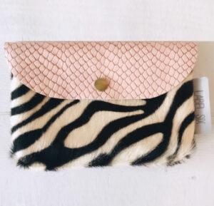 Bumbag pink zebra