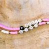 Armbanden set ciao bella pink