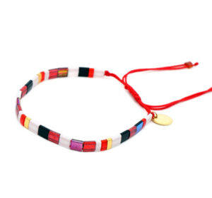 Colorful armband red