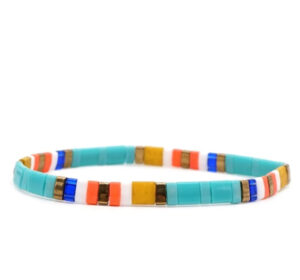 Colorful armband blue