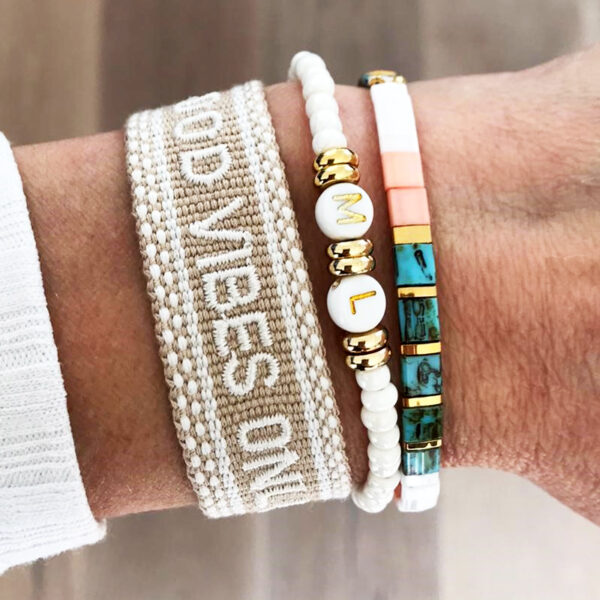 Good vibes only ibiza armbanden