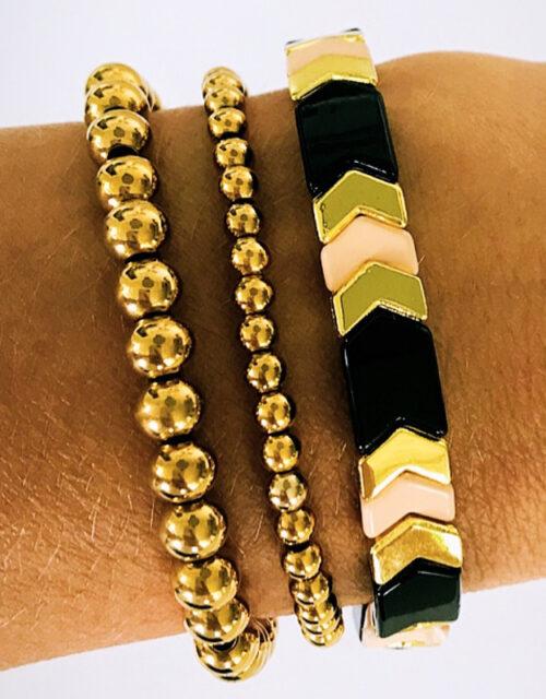 Gouden armbanden arrow