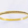 Armband raster lines goud
