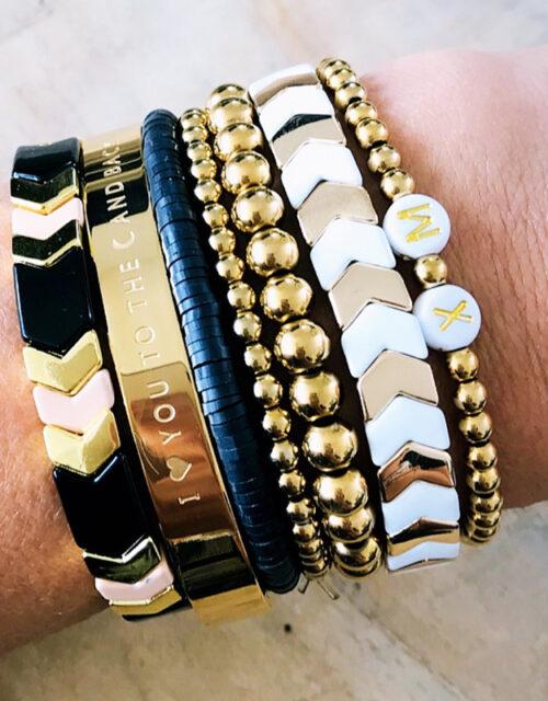 Gouden armbanden party L
