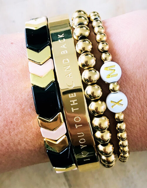 Gouden armbanden party S