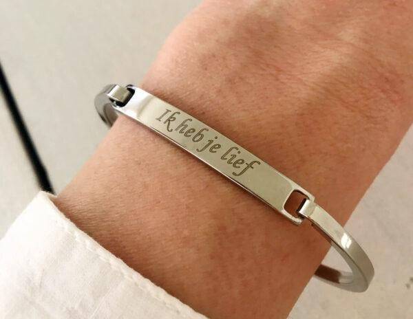 Armband ik heb je lief