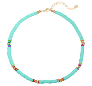 Ketting surf babe blue