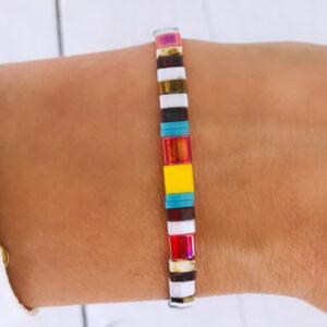 Miyuki armband mixed color