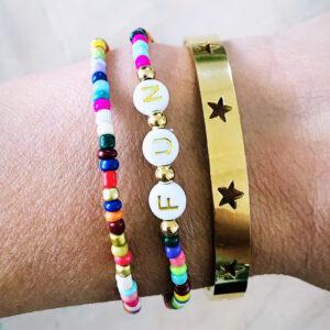 Miyuki armbanden set fun stars