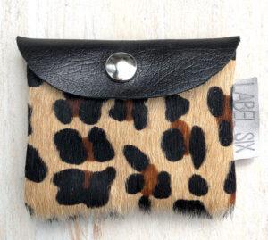 Portemonnee leopard