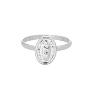 Ring mary zilver