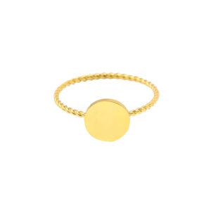 Ring round big goud