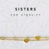 Armband Sisters eternity heart