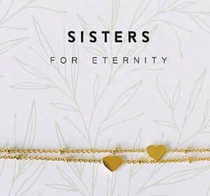 Armband Sisters eternity heart