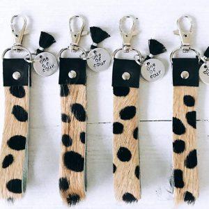 Label Six sleutelhanger tijger BFF4