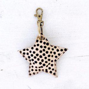 Sleutelhanger star stip