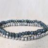 Sparkle armbanden set grey