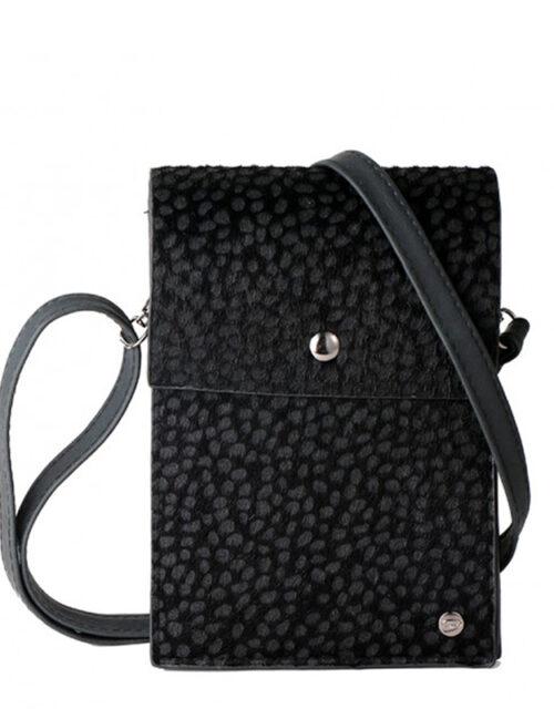 Telefoontasje panter zwart