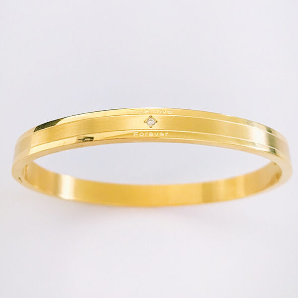 Armband true love goud