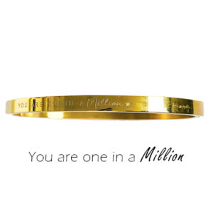 Armband - You are one in a million single
