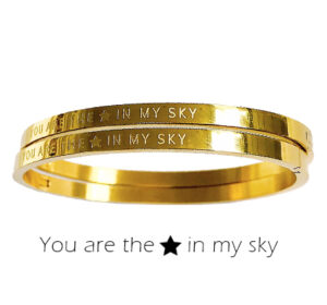 Armband - You are the star in my sky