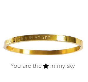 Armband - You are the star in my sky single