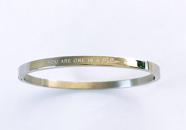 You are one in a million armband