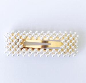 Haarclip pearls recht