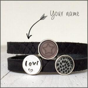 armband met eigen naam